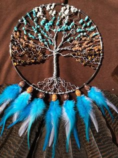 ❤~Atrapa Sueños ~❤  ❤~ Árbol de la Vida~❤ Silver Dream Catcher- Made to Order
