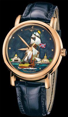 Мужские часы Ulysse Nardin Classic Shtandart 136-11 SHT обзор, отзывы,  описание 8f236d54135