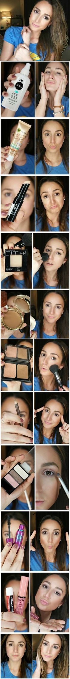 Makeup For Beginners With Products And Step By Step Tutorial Lists That Cover What To Buy, How To Apply, And Basic Tips And Tricks For Make Up Beginners. Curious How To Put On Eyeshadow Or Contour For An Easy And Natural Look? These Tutorials And Hacks Sh
