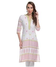 Cotton Kurti | I found an amazing deal at fashionandyou.com and I bet you'll love it too. Check it out!
