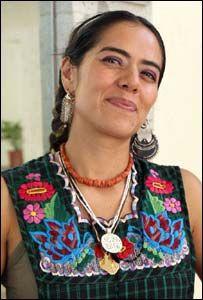 Lila Downs, cantante mexicana.