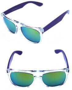 MEN Sunglasses Sport Style Metal Frame  Black Silver Mirror Dark Lens Revo