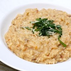 Sun-dried Tomato Risotto. Absolutely THE BEST risotto I have ever made...creamy, full flavoured...OMG it is SO good...