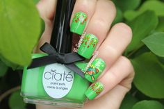 Nail art May #5 – Cinco De Mayo | Coewless nail polish blog