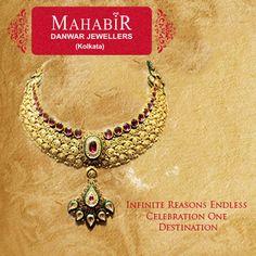 Infinite Reasons Endless Celebration One Destination with #MahabirDanwarJewellers