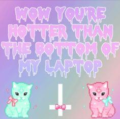Lol. #pastel goth