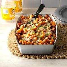 Lasagna Toss: Taste Home Italian Recipes, Beef Recipes, Cooking Recipes, Italian Meals, Healthy Cooking, Yummy Recipes, Cooking Tips, Recipies, Quick Meals