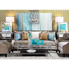 Color palett?                                      Archer Rug | Reflective Luxury | Living Room | Inspiration | Z Gallerie