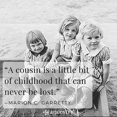 What is your favorite childhood memory that includes your cousin(s)? #memories…