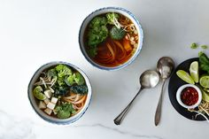 A spin on Vietnamese phở that lets you take control of the spices and scents and textures -- no recipe or meat required.
