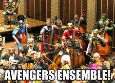 Avengers Ensemble! :)