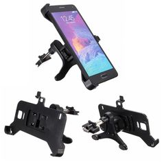 360°Car Air Vent Mount Cradle Holder Stand For Samsung Galaxy Note 4