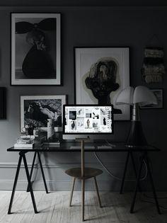 Lotta Agaton, interior styling, design, dark, stone, fittings