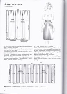 Pleated Skirt Pattern, Knife Pleated Skirt, Skirt Patterns Sewing, Clothing Patterns, Pattern Drafting Tutorials, Abaya Pattern, Fashion Dictionary, Modelista, Fashion Vocabulary