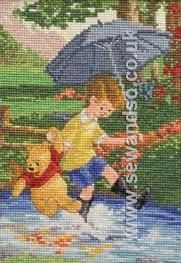 Buy Disney Christopher Robin and Pooh Cross Stitch Kit Online at www.sewandso.co.uk