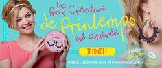 Laissez-vous tenter par la box créative de printemps by Perles & co ! Par ici >>> https://www.perlesandco.com/Kit_Creation_Bijou___La_Box_Creative_Boucles_d_Oreilles_Printemps-p-81726.html