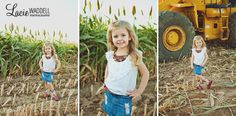 Country girl on the farm family photography