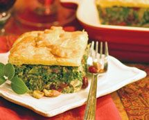 Recipe: Organic Winter Greens with Hazelnuts and Cranberries in Puff Pastry | PCC Natural Markets
