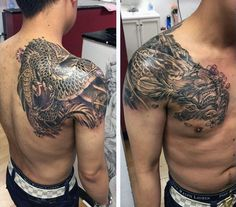 Dragon Tattoo For Men dragon tattoo for men 50 Deadly Dragon Tattoos For Men - Manly Mythical Monsters Dragon Tattoo Chest, Dragon Tattoo Shoulder, Black Dragon Tattoo, Dragon Tattoos For Men, Dragon Sleeve Tattoos, Japanese Dragon Tattoos, Japanese Sleeve Tattoos, Dragon Tattoo Designs, Tattoo Sleeve Designs