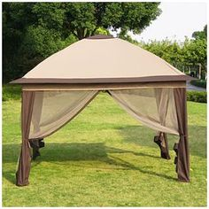 Lovely pop - up canopy from Big Lots!  Great price too.
