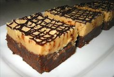 Super Peanut Butter Filled Brownies.........do I dare??  :o