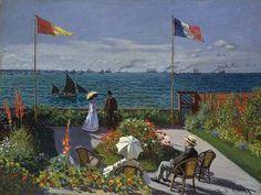 Claude Monet, La terraza de Sainte-Adresse - Museo Metropolitano de Arte, Nueva York (Estados Unidos)