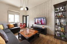 להיכנס הביתה עם חיוך: שיפוץ דירה אורבנית במרכז תל אביב | בניין ודיור