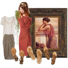 """""""antique soft autumn modernized"""" by teamonkey on Polyvore"""