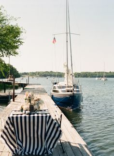 al fresco dinner parties and sail boats Nautical Wedding Inspiration, Nautical Wedding Theme, Wedding Ideas, Nautical Party, Wedding Blog, Vintage Nautical, Wedding Crafts, Wedding Designs, Wedding Reception