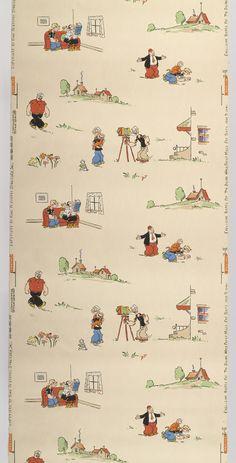 Wow!  Popeye wallpaper, 1938