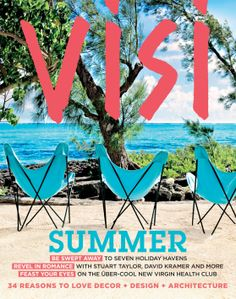 VISI / Articles / Fall in love with the new summer VISI South African Design, Publication Design, Butterfly Chair, Editorial Design, Design Trends, Beautiful Homes, Architecture Design, Cool Stuff, Digital
