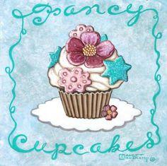 Fancy Cupcakes  Cross stitch pattern pdf format by diana70 on Etsy
