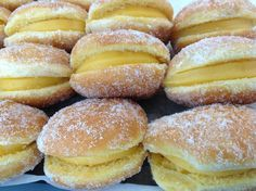 Bola de Berlim, also known as a Berliner, is basically the Portuguese version of a doughnut.