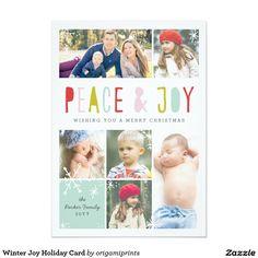 Winter Joy Holiday Card