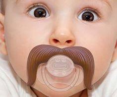 Cowboy Mustache Pacifier http://www.thisiswhyimbroke.com/cowboy-mustache-pacifier