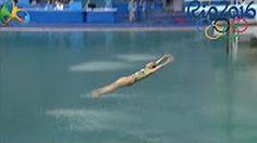 Scores 0.00 For CALAMITOUS Dive In 3m Springboard At Rio de Janeiro Olympics…