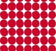 Marimekko Pienet Kivet on rakastettu kuosi, jonka Maija Isola suunnitteli v.1956. Tapettikuvio on pienennös alkuperäisestä. - Marimekko Pienet Kivet (small rocks in English), is beloved pattern that Maija Isola designed in 1956. Wallpaper pattern is a smaller print of the pattern.
