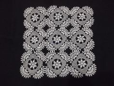 This Pin was discovered by Yeş Crochet Home, Crochet Motif, Crochet Doilies, Beading Patterns Free, Knitting Patterns, Crochet Patterns, Needle Lace, Needle And Thread, Point Lace