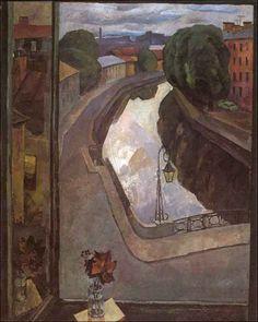 Vatenin V. Leningrad Landscape, 1964