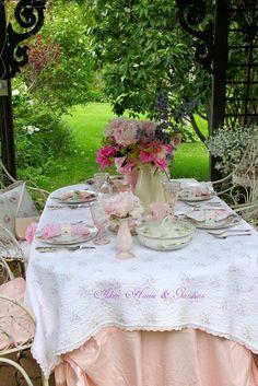 A beautiful garden party.