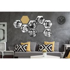 Diy Room Decor, Wall Decor, Home Decor, Uni Room, Concept Architecture, Home Living Room, Decoration, Photo Wall, Collage