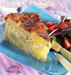 Fontina Cheese, Savory Tart, Sweet Potato Recipes, Vegetarian Cheese, Custard, Casseroles, Quiche, Great Recipes, A Food