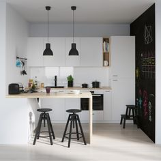 25 ideja za kuhinje - bijela i drvo | Uređenje doma