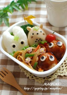 Tororo rice ball and egg! Curious what the sprites are made of.