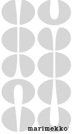 マリメッコ/おしゃれパターン18 iPhone壁紙 Wallpaper Backgrounds iPhone6/6S and Plus Marimekko iPhone Wallpaper