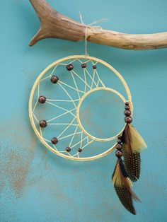 Who Created The Dream Catcher Calling this Golden Solstice Yellow Opal Iolite Yellow Mystic 12