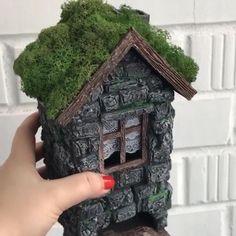 Diy Crafts Hacks, Diy Home Crafts, Cute Crafts, Cardboard Crafts, Foam Crafts, Hand Art Kids, Fairy House Crafts, Diy Barbie Furniture, Anniversaire Harry Potter