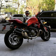What you guys think about the 2016 Ducati Monster that we borrowed from Ducati Triumph New York last weekend?