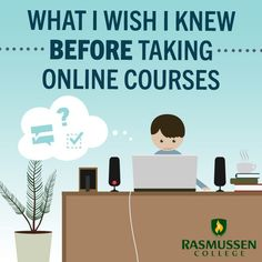 What I Wish Someone Told Me BEFORE Taking Online Classes #onlinedegree #college