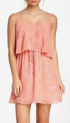 Single Carrie Print Dress